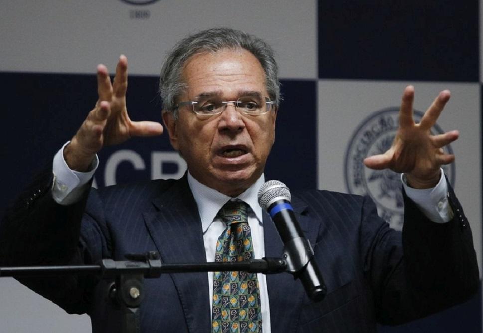 O ministro da Economia, Paulos Guedes.