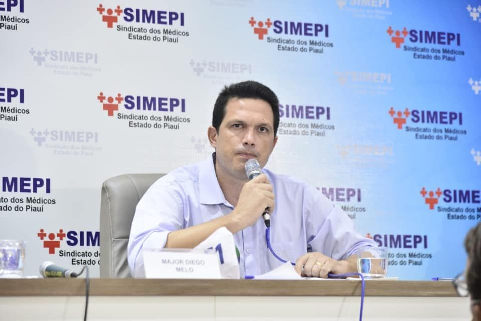 Major Diego Melo é presidente da Amepi