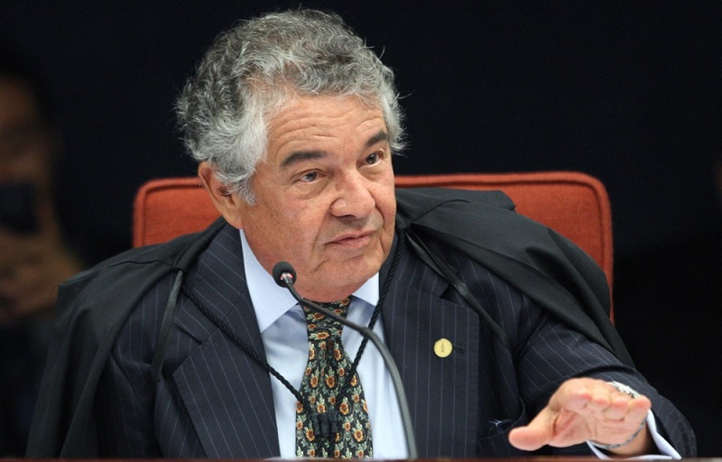 O ministro Marco Aurélio Mello, do Supremo Tribunal Federal.
