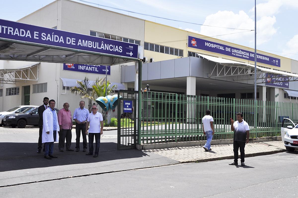 Hospital de Urgência de Teresina - onde o diretor Rodrigo Martins nega socorro a detentos em estado grave