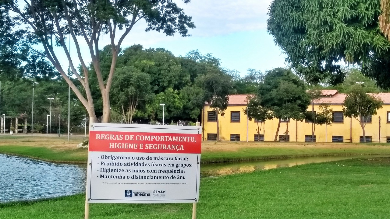Novo regulamennto do Parque da Cidadania
