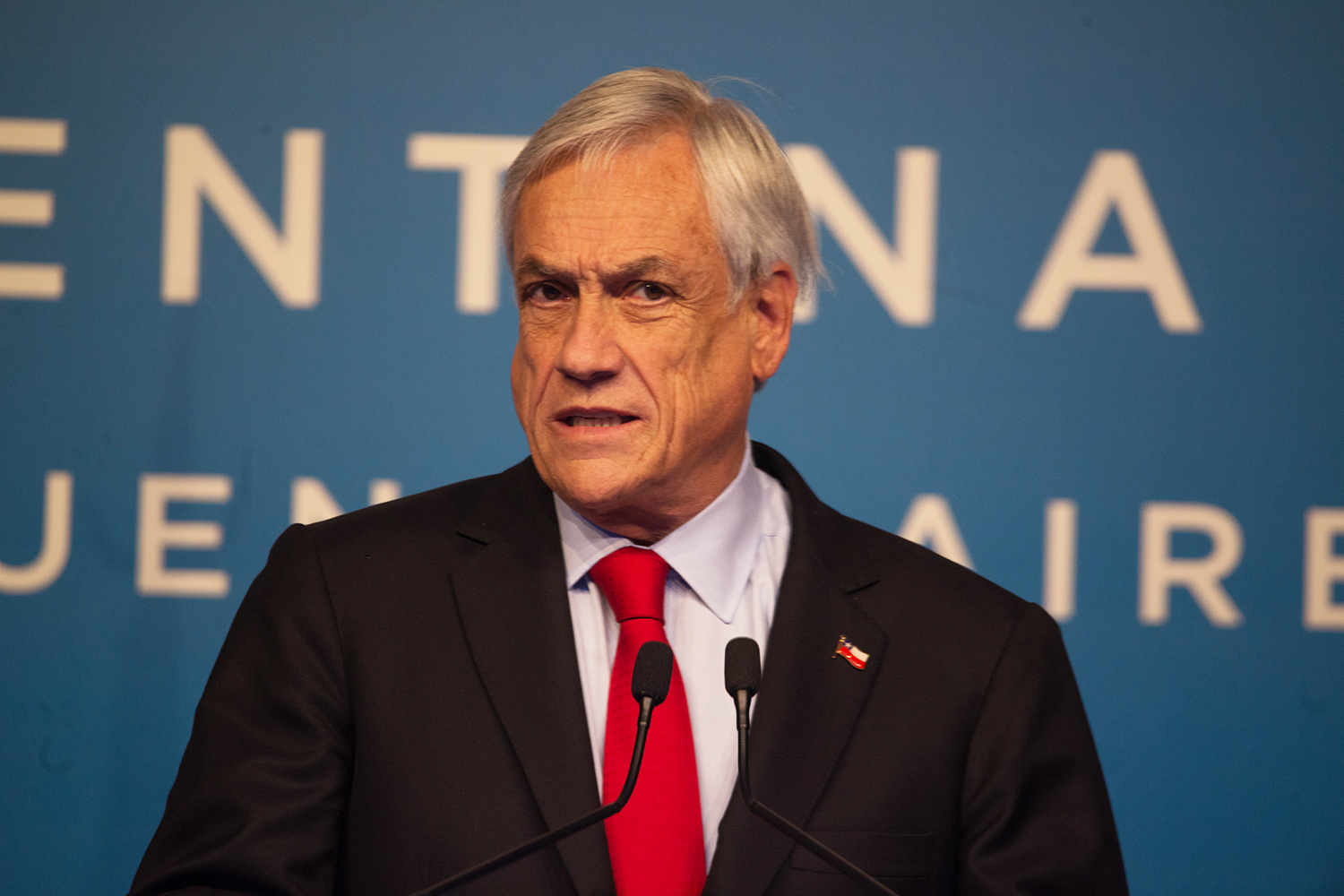 O presidente do Chile, Sebastián Piñera